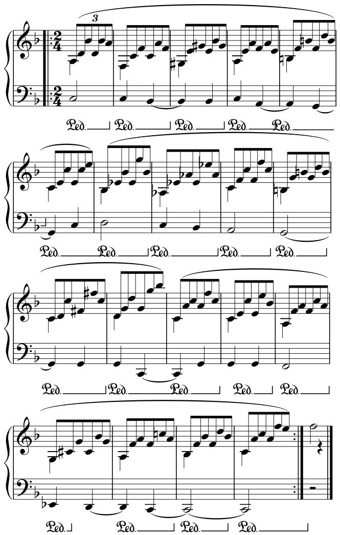 Passacaglia, Finale