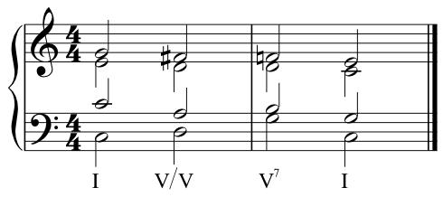 V of V to V7