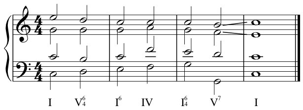 Four Part Harmony
